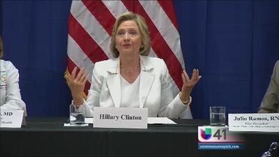 Hillary Clinton reitera promesa a Ino Gómez, en WADO 1280