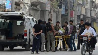 Atentado en un barrio cristiano de Damasco