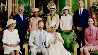 Baby Archie's controversial christening