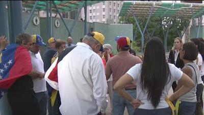 Continúan las manifestaciones en Houston a favor de un cambio de gobierno en Venezuela
