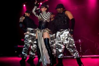 La India e Ivy Queen en Chicago