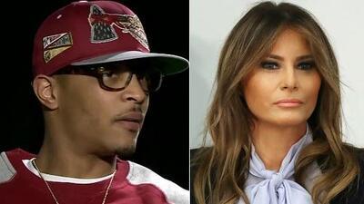 Vocera de la primera dama Melania Trump pide un boicot al rapero T.I. por un video que considera irrespetuoso