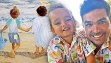 El actor Ferdinando Valencia cree que su hijo Tadeo ve y juega con Dante, su fallecido mellizo