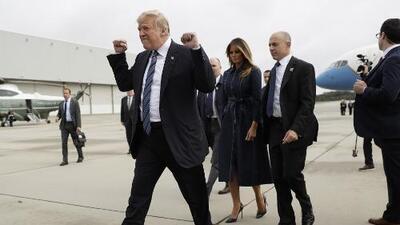 El gesto de Trump durante una ceremonia del 9/11 que genera críticas