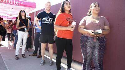 Cientos de voluntarios hacen largas filas para donar sangre para los heridos de El Paso y Lyft se suma al esfuerzo