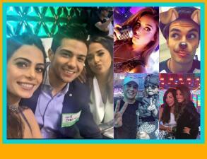 El elenco de Premios Juventud enloqueció en las redes