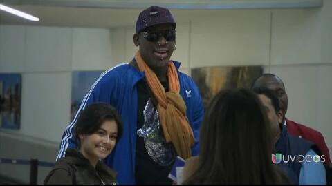 Dennis Rodman va a rehabilitación
