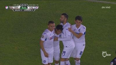 Con estos goles Cruz Azul remontó 2-1 a Alebrijes en su visita al Estadio Tecnológico de Oaxaca