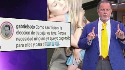 Raúl no cree que el Instagram de Gabriel Soto fue hackeado para publicar comentario contra Geraldine Bazán