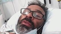 Desde una cama de hospital, hispano relata cómo terminó siendo atropellado mientras trabajaba en Los Ángeles