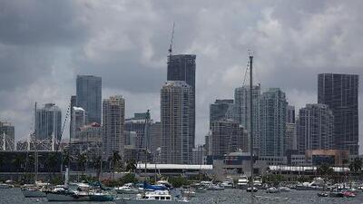 Cielo nublado y clima fresco para la noche de este lunes en Miami