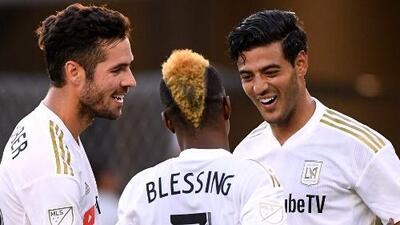 ¡Siempre Vela! El delantero mexicano marcó golazo con el LAFC