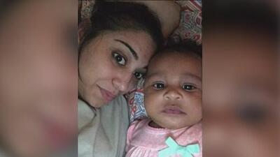 A su madre le dispararon a quemarropa y esta pequeña bebé fue hallada con sangre en las manos