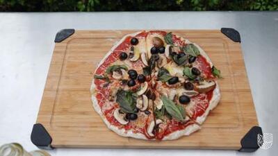 Convierte tu asador en un horno para pizzas