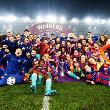 Barcelona femenil gana su primera Champions League