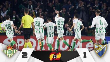 Con asistencia de Guardado, el Betis se metió a la Europa League