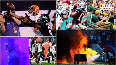 Las imágenes de impacto en la Semana 2 de la NFL