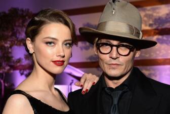 El lindo romance de Johnny Depp y Amber Heard