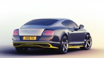 Detalles del Bentley Continental GT Speed Breitling Jet Team Series