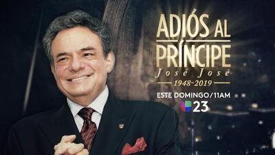 ¿Cómo ver el funeral de José José por TV, en tu celular o Internet este domingo?
