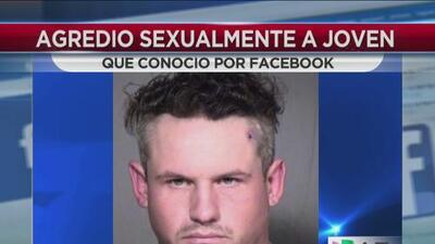 Adolescente violada por un hombre que conoció a través de Facebook