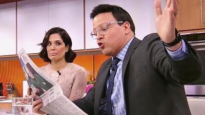 Karla Martínez tiene un mensaje para su esposo al enterarse lo que le predice el horóscopo