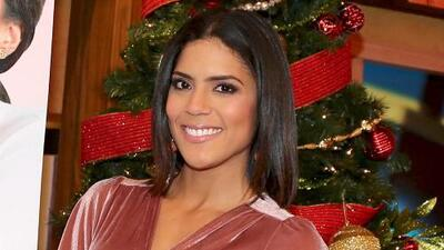 Francisca Lachapel está feliz de poder cerrar el año con buenas noticias
