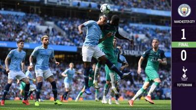 En Champions no, pero en Premier sí: Manchester City vence al Tottenham