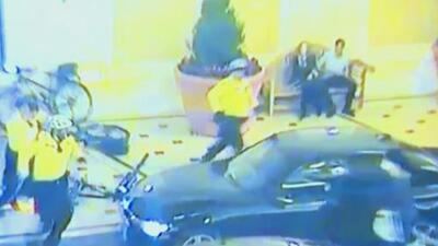 En video: El tiroteo entre la policía y un ladrón que había robado en un famoso casino de Las Vegas