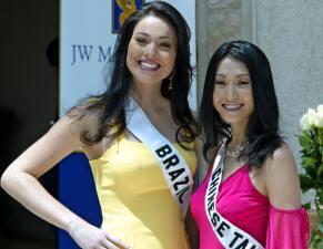 Encuentran sin vida a Miss Brasil 2004