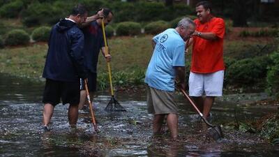 Inundaciones, el panorama en zona costera de Carolina del Norte por el huracán Florence