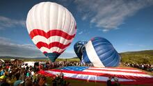 Todo listo para el First Fruits Farm Memorial Balloon Festival en Carolina del Norte