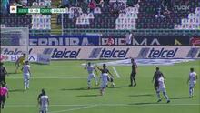 ¡Aguanta Gil Alcalá! Detiene un potente disparo del 'Oso' González