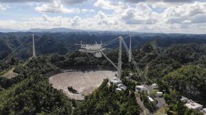 Colapsa la plataforma del Observatorio de Arecibo