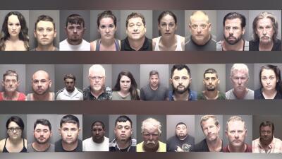 En fotos: Arrestan a decenas de personas por DUI durante el fin de semana del 4 de Julio al sureste de Houston