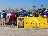 Crean barra 'Libres y Loqos' en Qatar para apoyar a los Tigres en el Mundial de Clubes