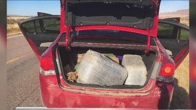 Mujer indocumentada es arrestada por transportar droga en el desierto