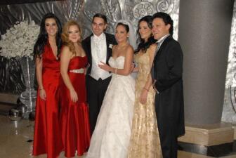 La boda de la hija de Pedro Fernández