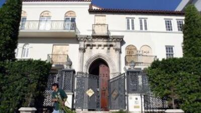 La antigua mansión de Versace en Miami será subastada en septiembre