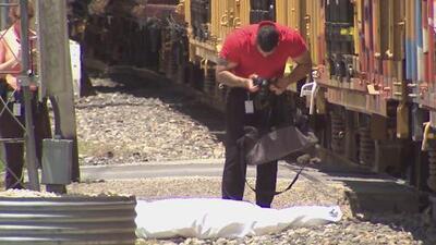 Un hombre muere arrollado por un tren en San Antonio