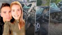 """""""Algo muy triste"""": la esposa embarazada de Emir Pabón requiere """"varias operaciones"""" para salvarle la vida"""