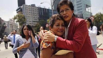 """""""Qué importa que digan que es de 7, se sintió peor que cualquiera"""": así vivieron el sismo en México"""