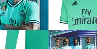 Real Madrid presenta su tercer uniforme