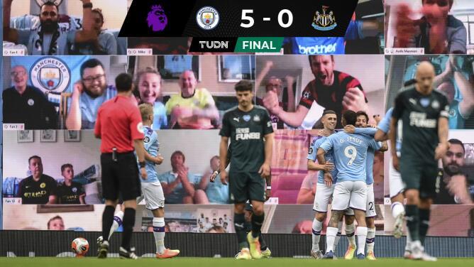 Humillación del City y doblete de Salah con Liverpool