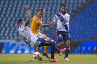 En fotos: Puebla rescata punto ante Tigres y se acerca a la calificación
