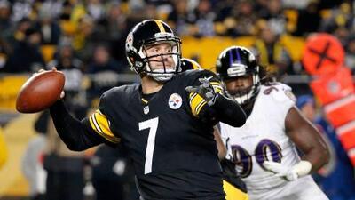 Steelers 43-23 Ravens: Ben Roethlisberger histórico da 3er triunfo al hilo a Pittsburgh