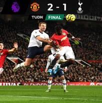 En el regreso de Mourinho, Tottenham cayó ante el United
