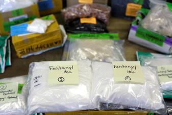 Así han decomisado cargamentos de fentanilo que ponían a millones en peligro