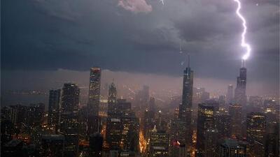Chicago tendrá un viernes con temperaturas confortables, pero en la noche se esperan tormentas eléctricas