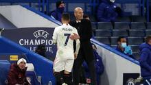Hazard le pidió perdón a Zidane y a los jugadores del Real Madrid